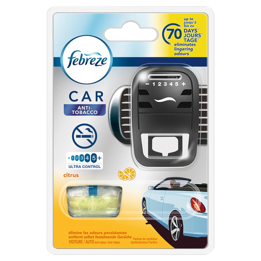 febreze car fresh escape lufterfrischer starterkit antitabak 7 ml jetzt bestellen a t u. Black Bedroom Furniture Sets. Home Design Ideas