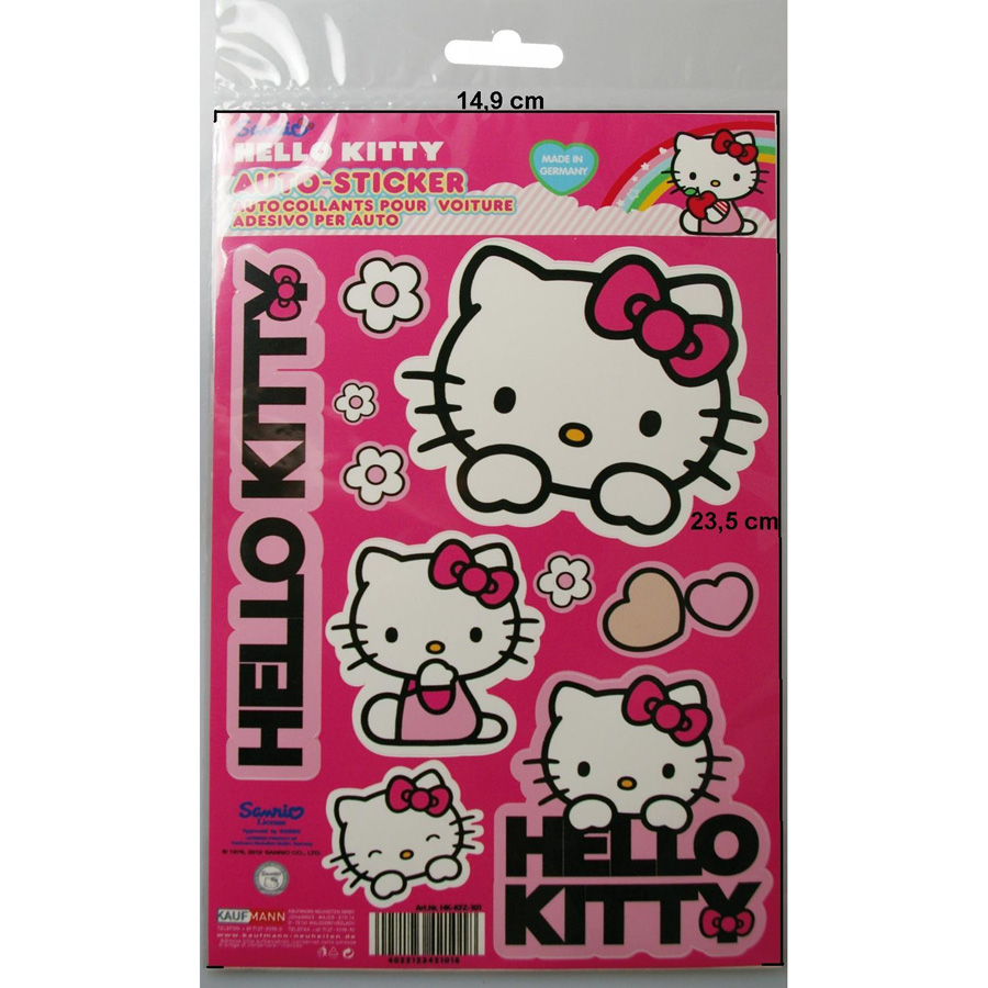 ´´Hello Kitty´´ Aufkleber-Set