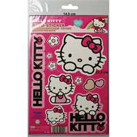 Hello-Kitty-Aufkleber-Set-