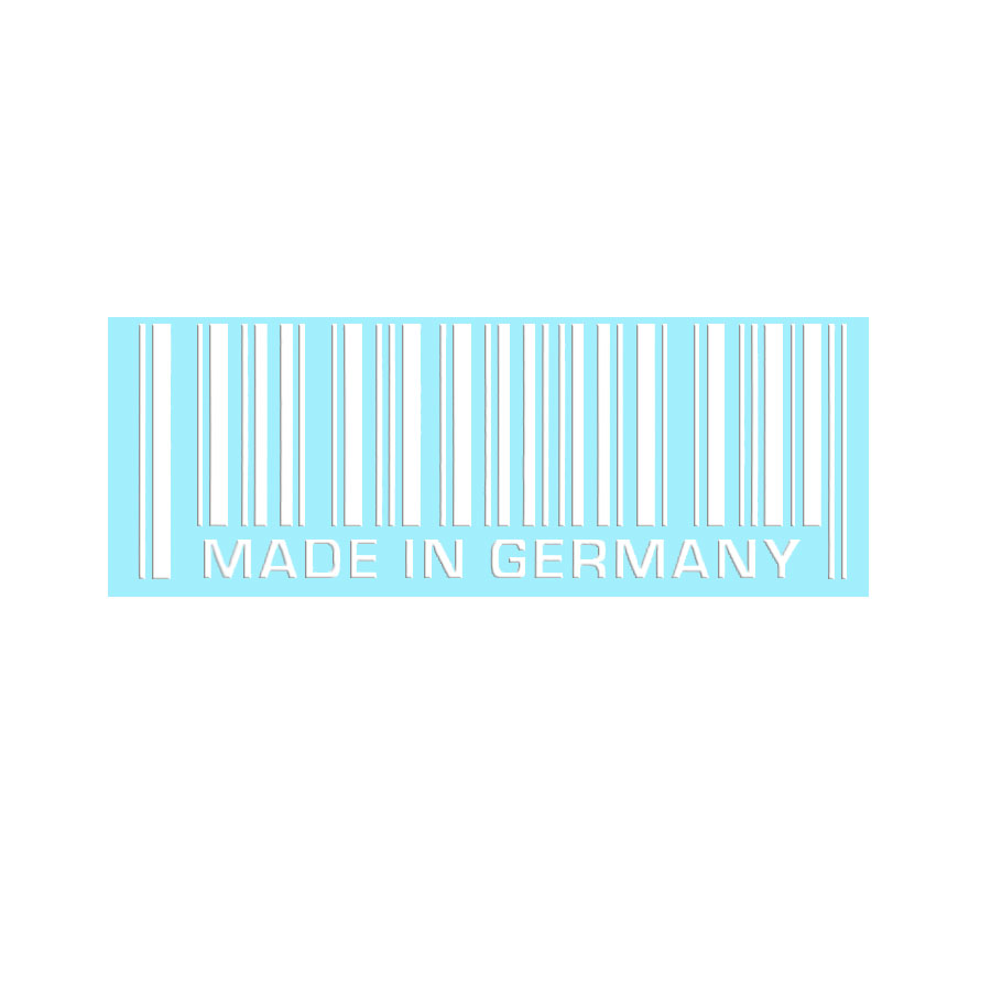 Aufkleber ´´MADE IN GERMANY´´, Auto-Sticker in ...