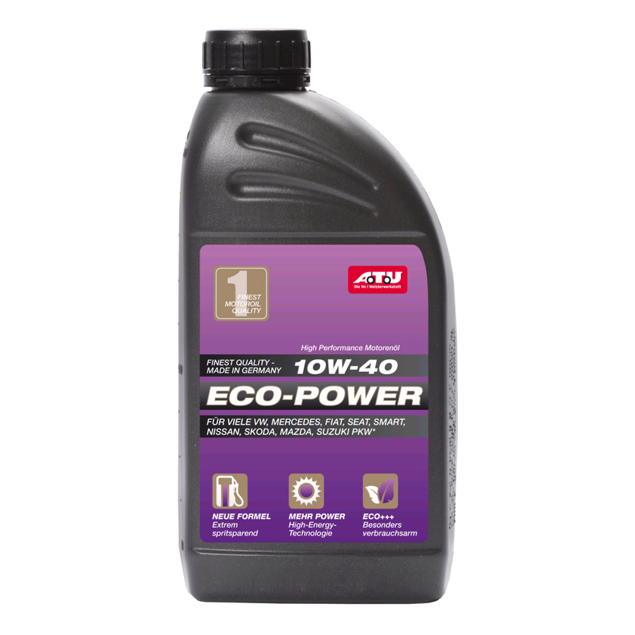 A.T.U Eco Power 10W 40 Motoröl, 1 Liter
