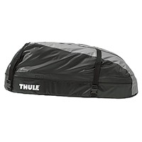 Dachbox-THULE-Ranger-90-Black/Silver-Gray-Volumen:-280-Liter