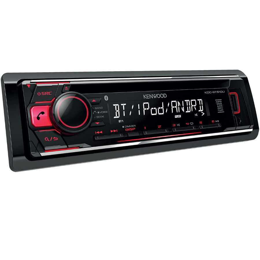 kenwood kdc bt510u autoradio mit usb cd rds. Black Bedroom Furniture Sets. Home Design Ideas