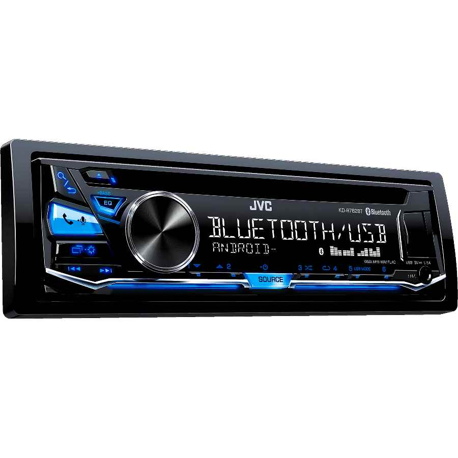 jvc kd r782bt bluetooth autoradio mit usb cd rds hochleistungstuner und android smartphone. Black Bedroom Furniture Sets. Home Design Ideas