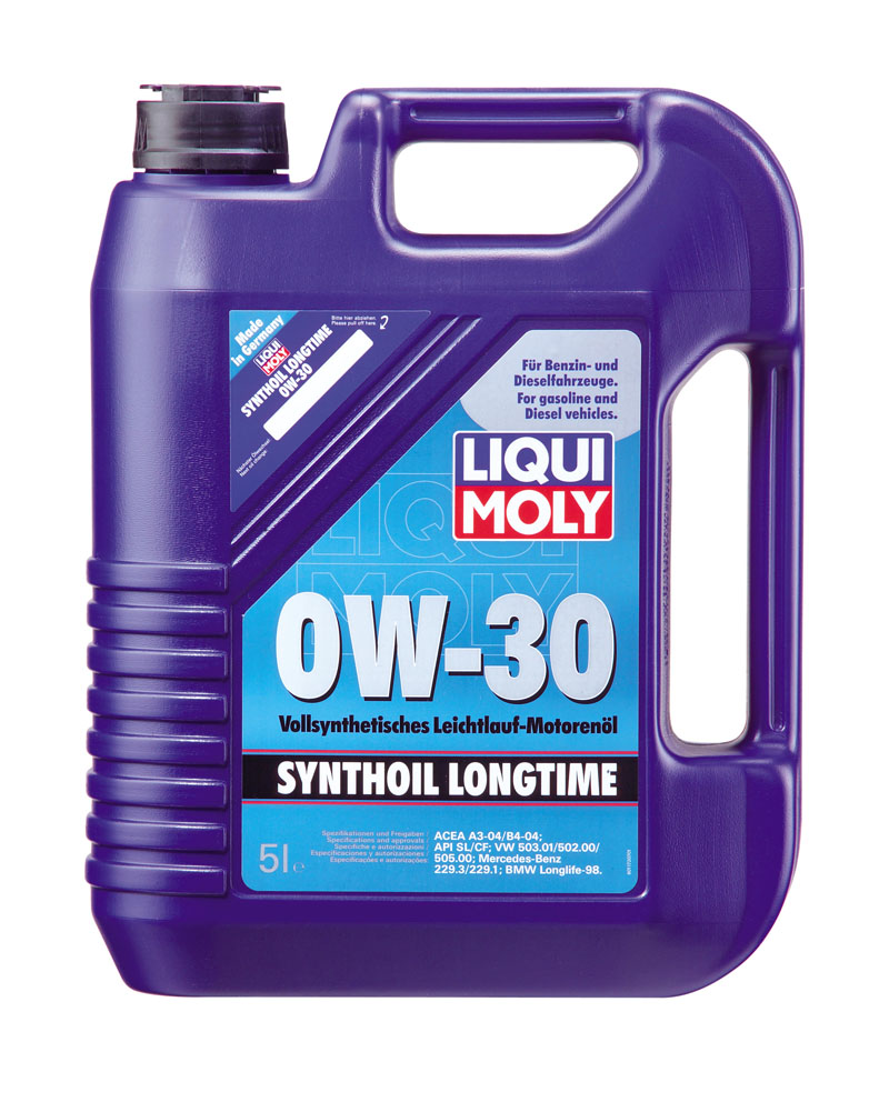 motor l liqui moly synthoil longtime 0w 30 5l ebay. Black Bedroom Furniture Sets. Home Design Ideas