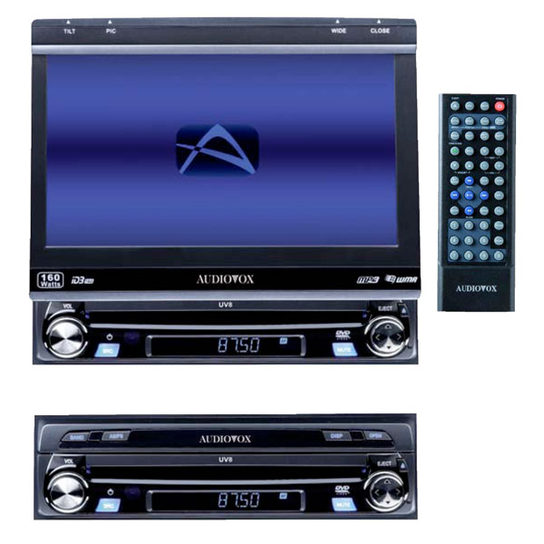 audiovox tft dvd multimedia autoradio monitor radio uv8. Black Bedroom Furniture Sets. Home Design Ideas