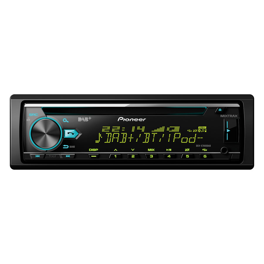pioneer deh x7800dab autoradio cd tuner mit bluetooth. Black Bedroom Furniture Sets. Home Design Ideas