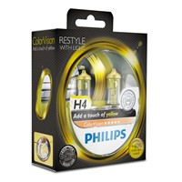 Philips-ColorVision-H4-Glühlampe-in-gelb-2-Stück