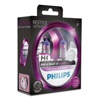 Philips-ColorVision-H4-Glühlampe-in-pink-2-Stück