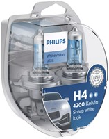 Philips-WhiteVision-ultra-H4-Halogenlampe-2-Stück-