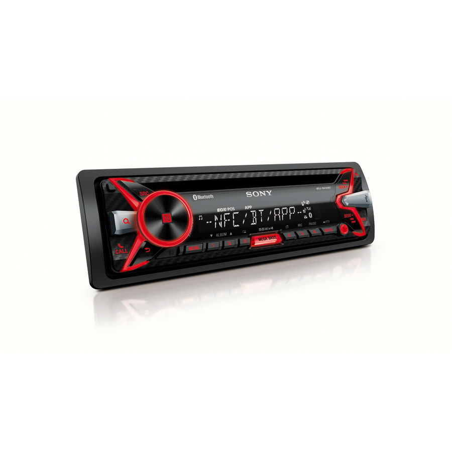 sony mex n4100bt autoradio cd tuner mit bluetooth usb. Black Bedroom Furniture Sets. Home Design Ideas