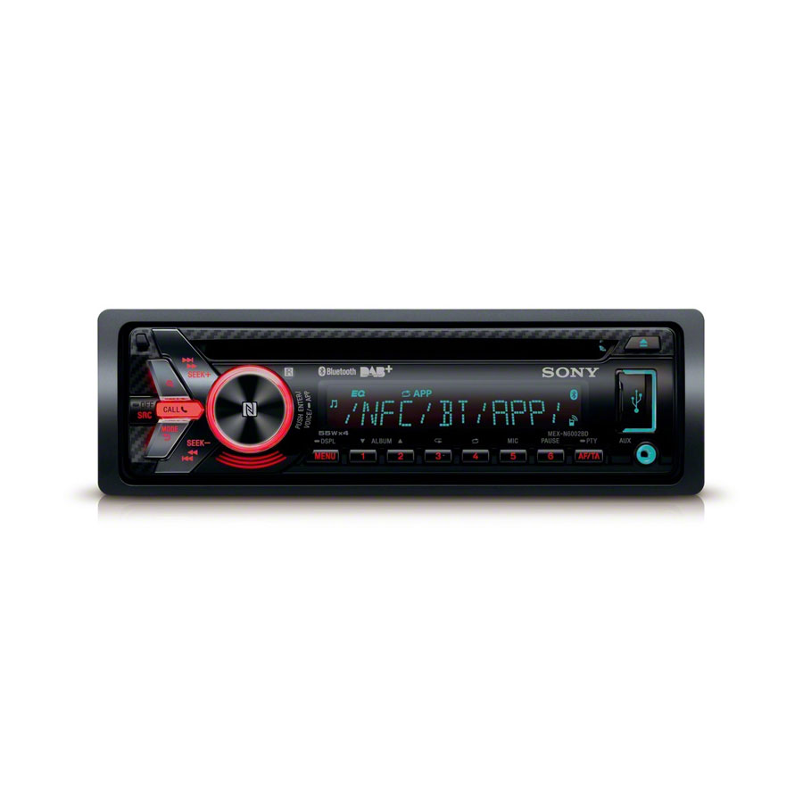 sony mex n6002bd autoradio cd receiver mit dab radio und. Black Bedroom Furniture Sets. Home Design Ideas